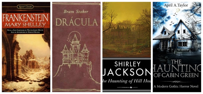 Gothic Horror Collage