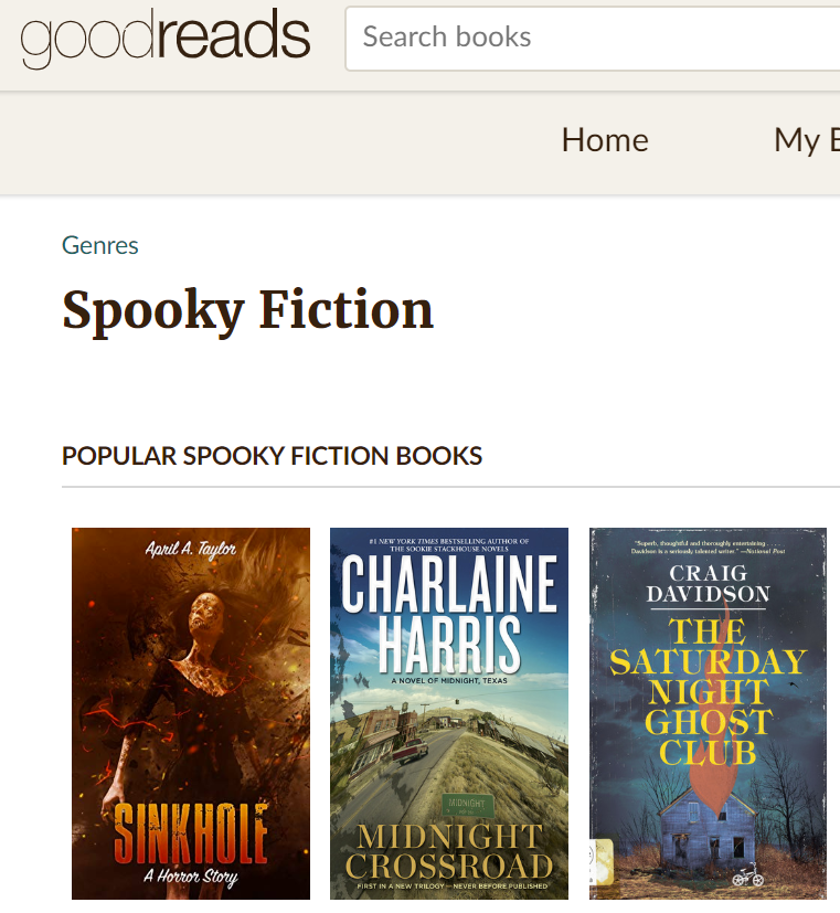 sinkhole spooky fiction 1