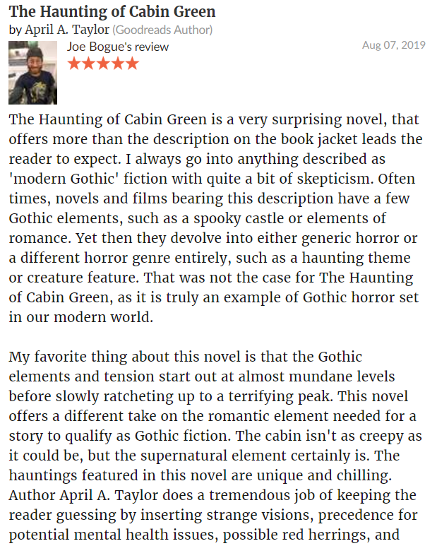 The Haunting of Cabin Green Review